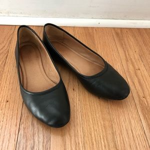Madewell Reid Ballet Flat In Black